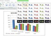 Cara Membuat Grafik di Microsoft Word dan Modifikasinya