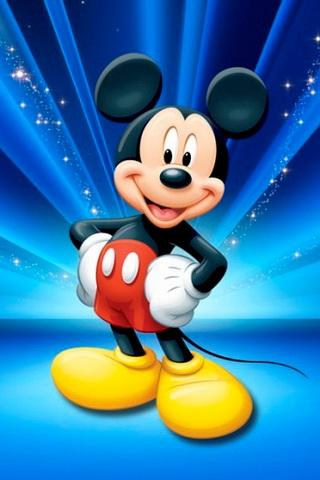wallpaper kartun mickey mouse keren
