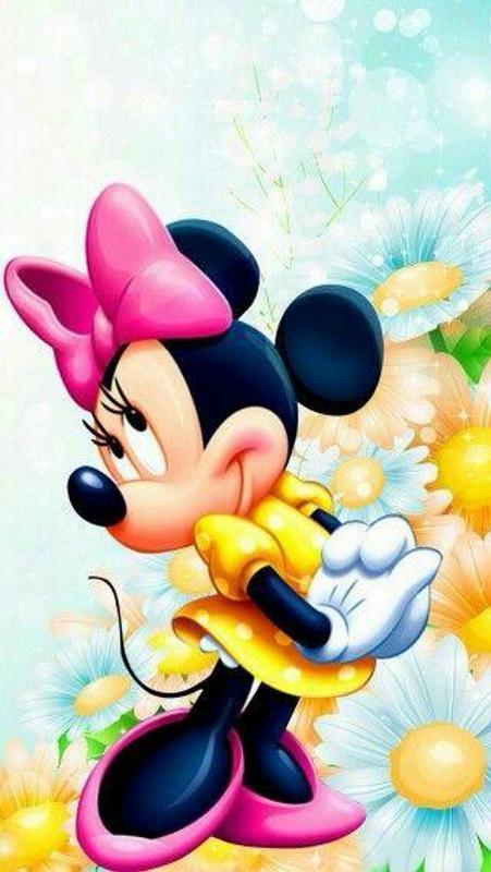 wallpaper kartun mickey mouse cinta