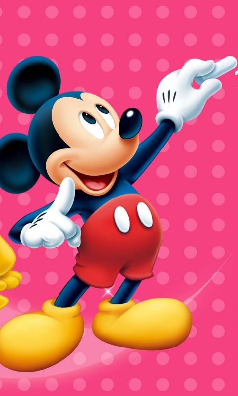 download wallpaper kartun mickey mouse