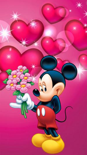 wallpaper kartun mickey mouse