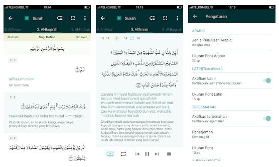 Aplikasi Al Quran 30 Juz dan Terjemahan | Belajar Al Quran