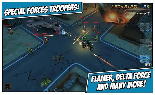 game gratis android Tiny Troopers 2: Special Ops