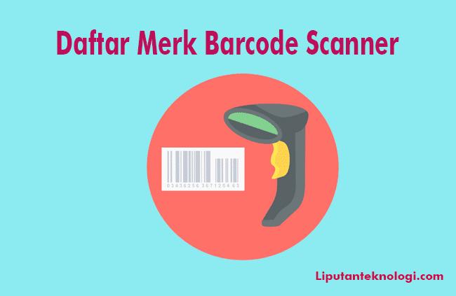 daftar barcode scanner