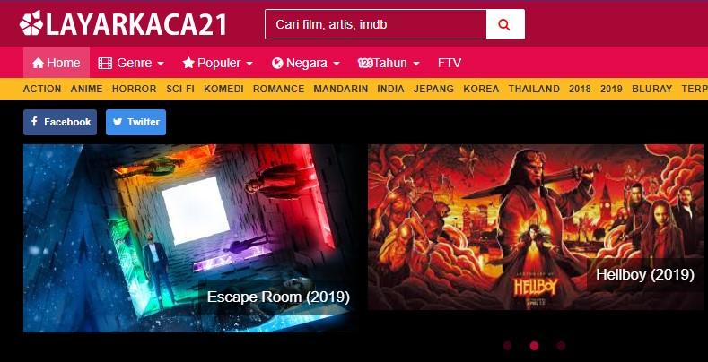 Cara download Film di LayarKaca21 Lewat Laptop