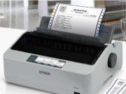 setting printer dot matrix lx 310