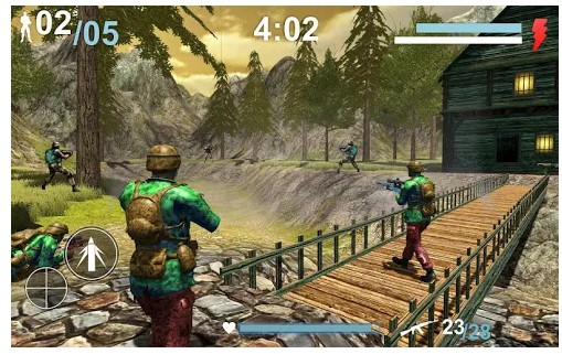 game offline android 	 Forntline Army Assassin Shooting 3D