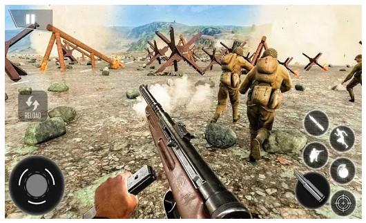 game offline seru World War Survival: FPS Shooting Game