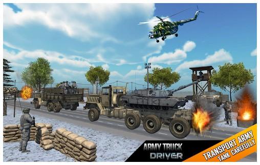 game gratis militer Truk mengemudi permainan