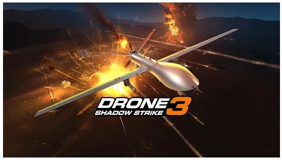 game offline Drone Shadows Strike