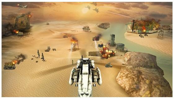 Gunship Strike 3D game terbaik