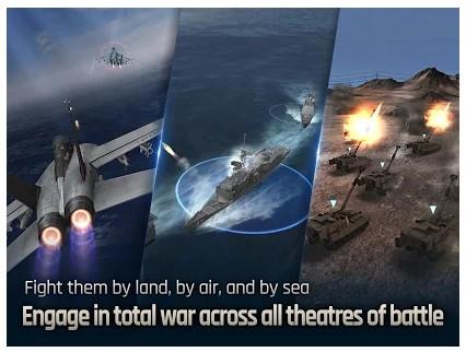 Game pesawat tempur gratis Gunship Battle Total Warfare