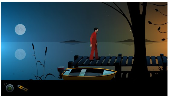game petualangan The Silent Age