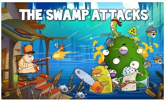game zombie offline Swamp Attack