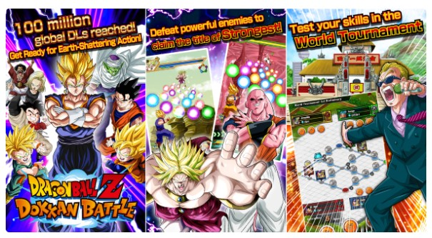 Game Anime offline Dragon Ball Z Dokkan Battle
