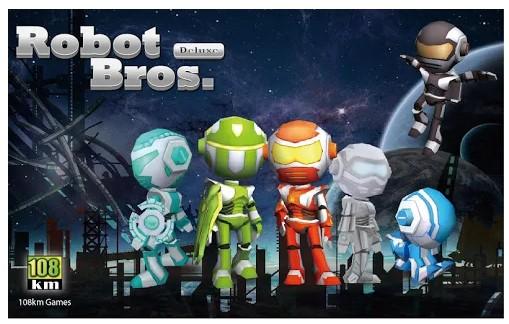 Game Offline Robot Bros Deluxe