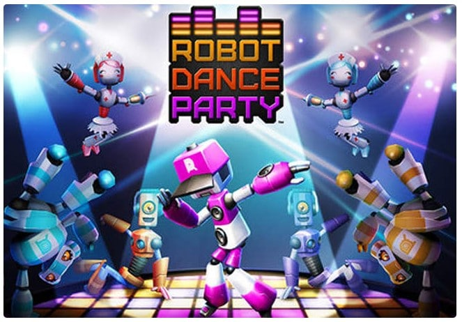 Game Offline Robot Dance Party