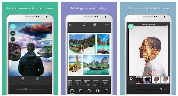 aplikasi edit foto terbaik android Pixlr