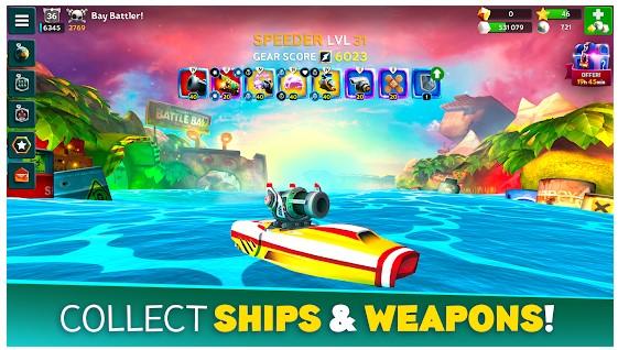 game kapal perang smartphone