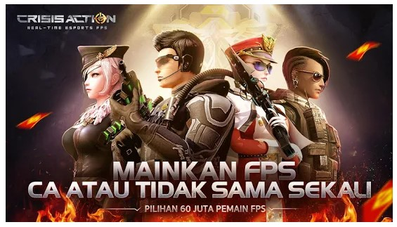 game perang online android Crisis Action
