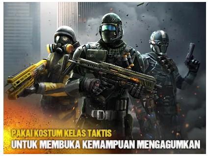 game perang online terbaik Modern Combat 5