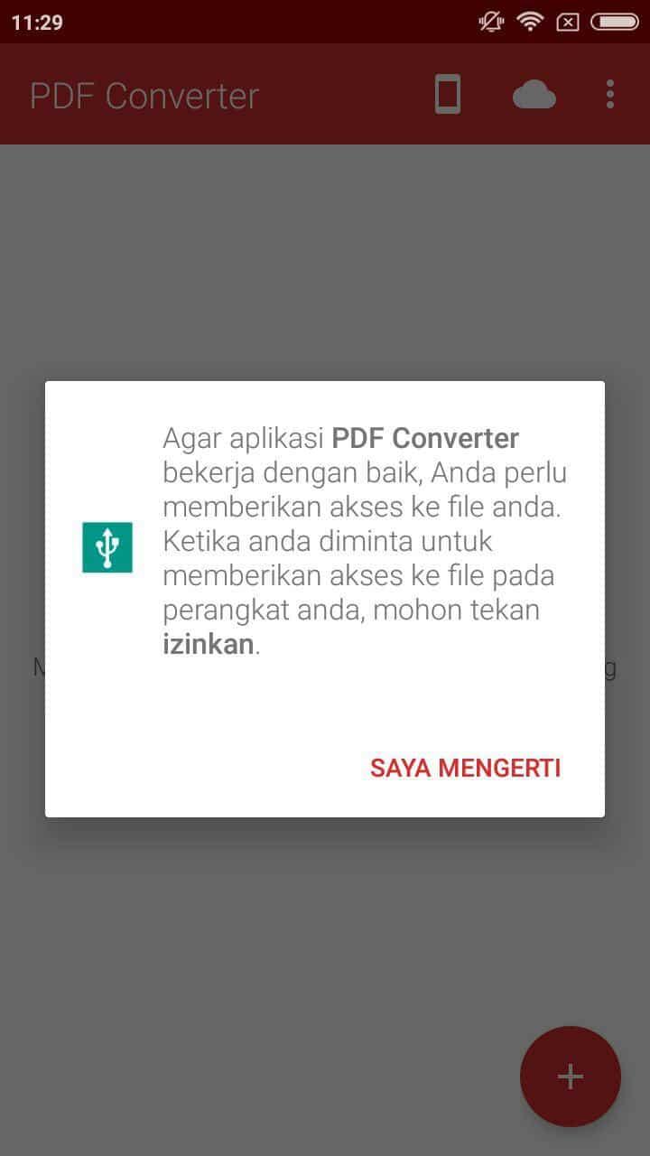 Convert PDF ke Word Lewat HP Android