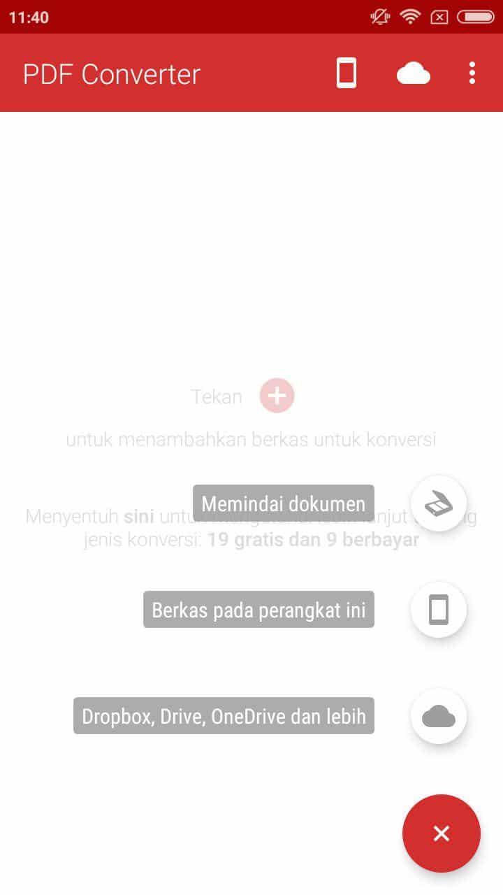 Convert PDF ke Word Lewat HP