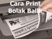 cara print bolak balik di printer epson l300