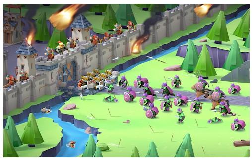 game perang kerajaan terbaik