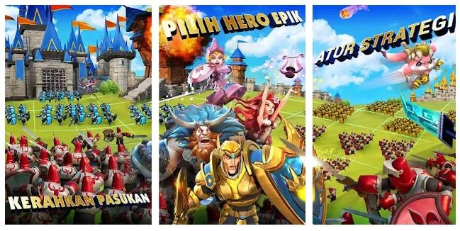 game perang kerajaan terpopuler android