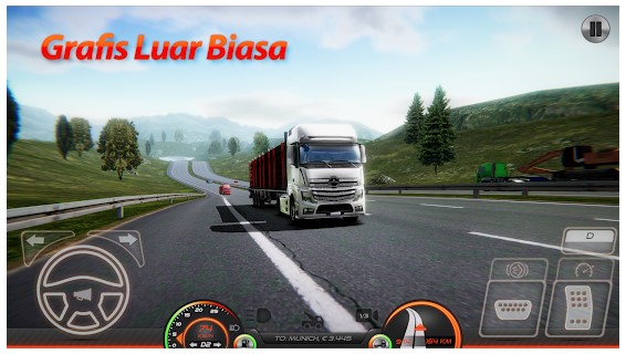 game simulator mobil truck android