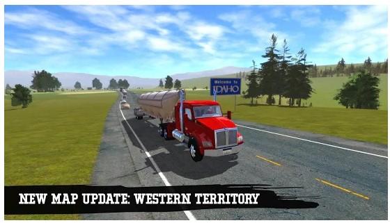 game truck simulator terbaik android
