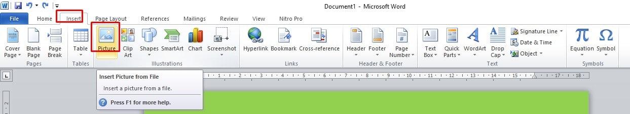 Cara Membuat Background di MS Word