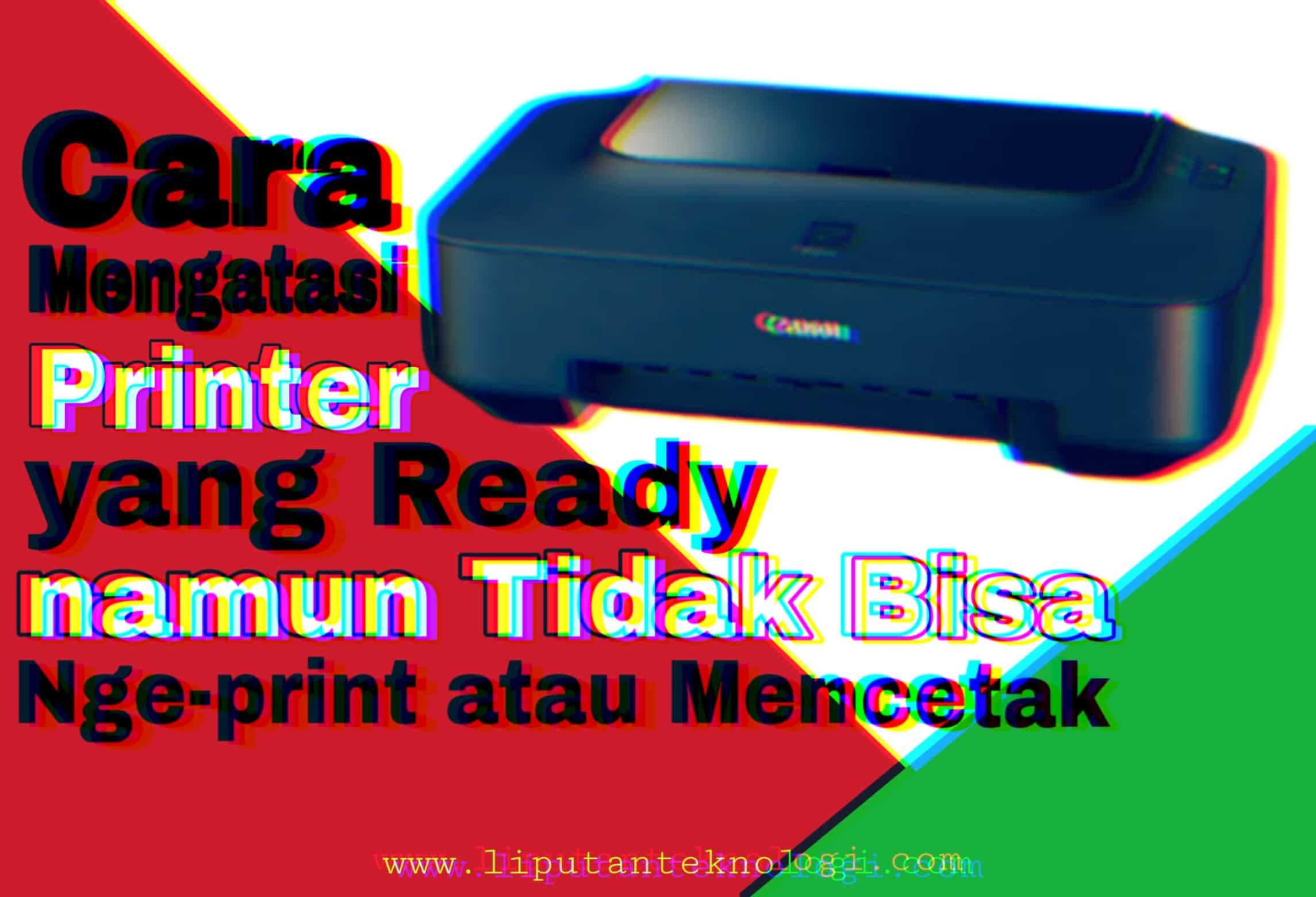 Mengatasi masalah printer