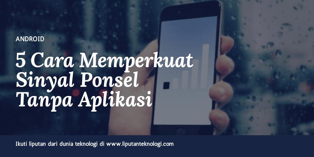 Sinyal-Ponsel