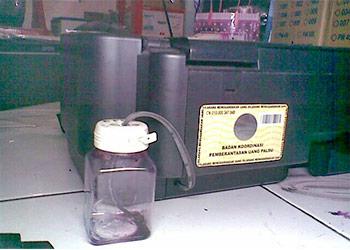 modif printer agar tinta berada di luar printer